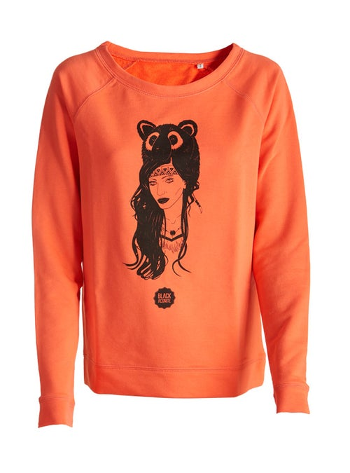 Image of The Bear - Pull col rond femme