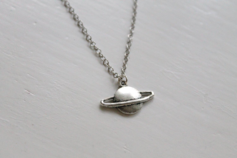 Image of Tiny Planet Necklace (Originally $14)