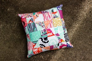 Image of Mystery Quilted Pillow PDF Pattern