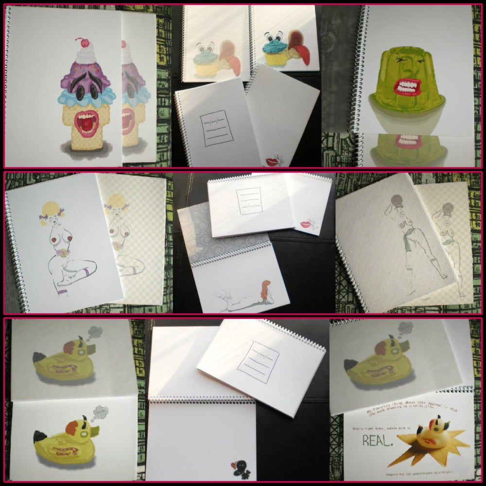Image of Note/Sketchbooks