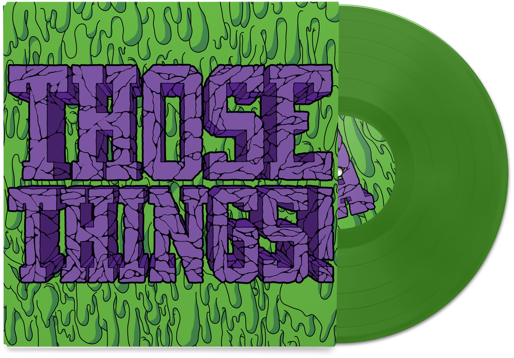 "Image of Those Things! 10"" Self Titled Vinyl (Transparent Green)"