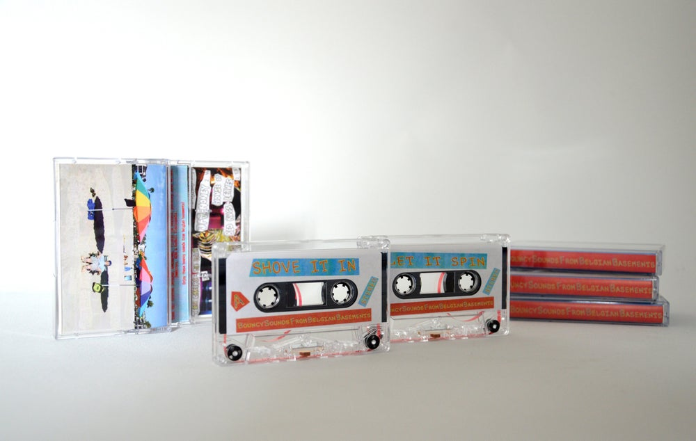 "Image of ""Bouncy Sounds from Belgian Basements"" on tape"