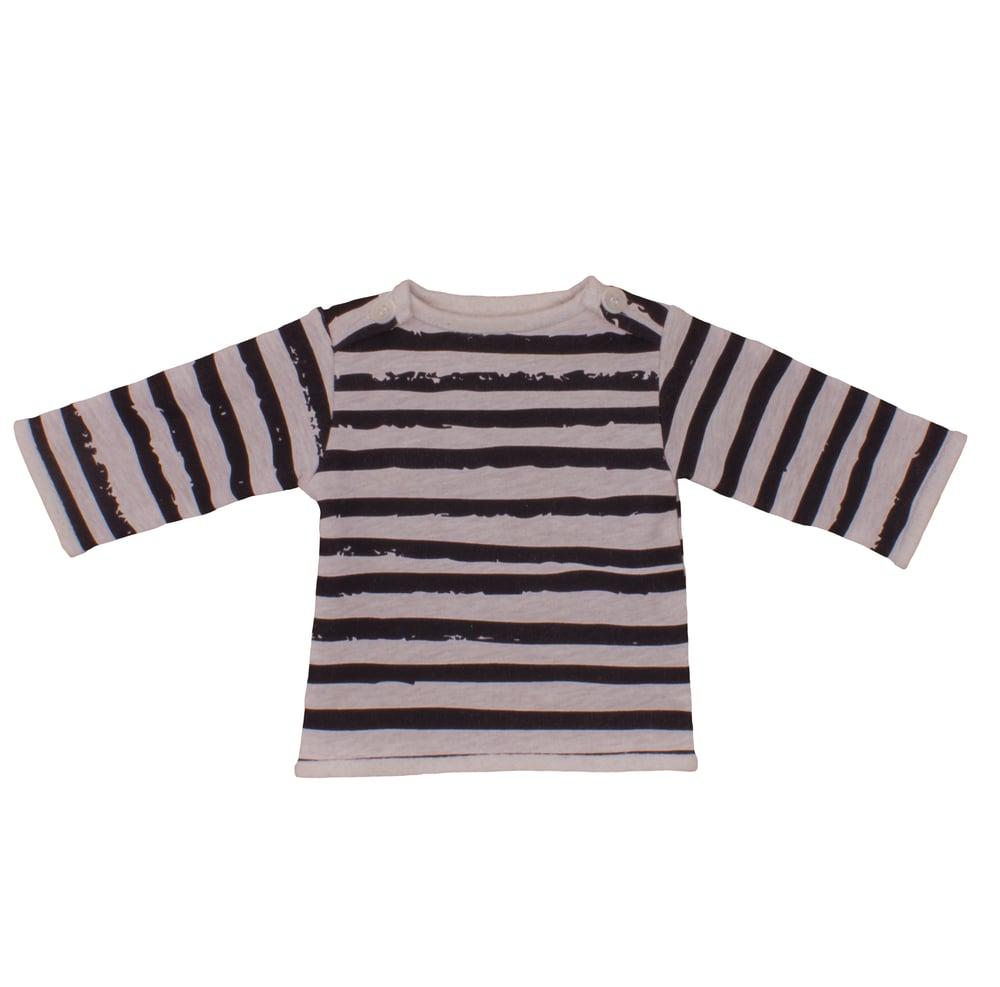 Image of Sweat-shirt bébé garçon Noé&Zoé à rayures