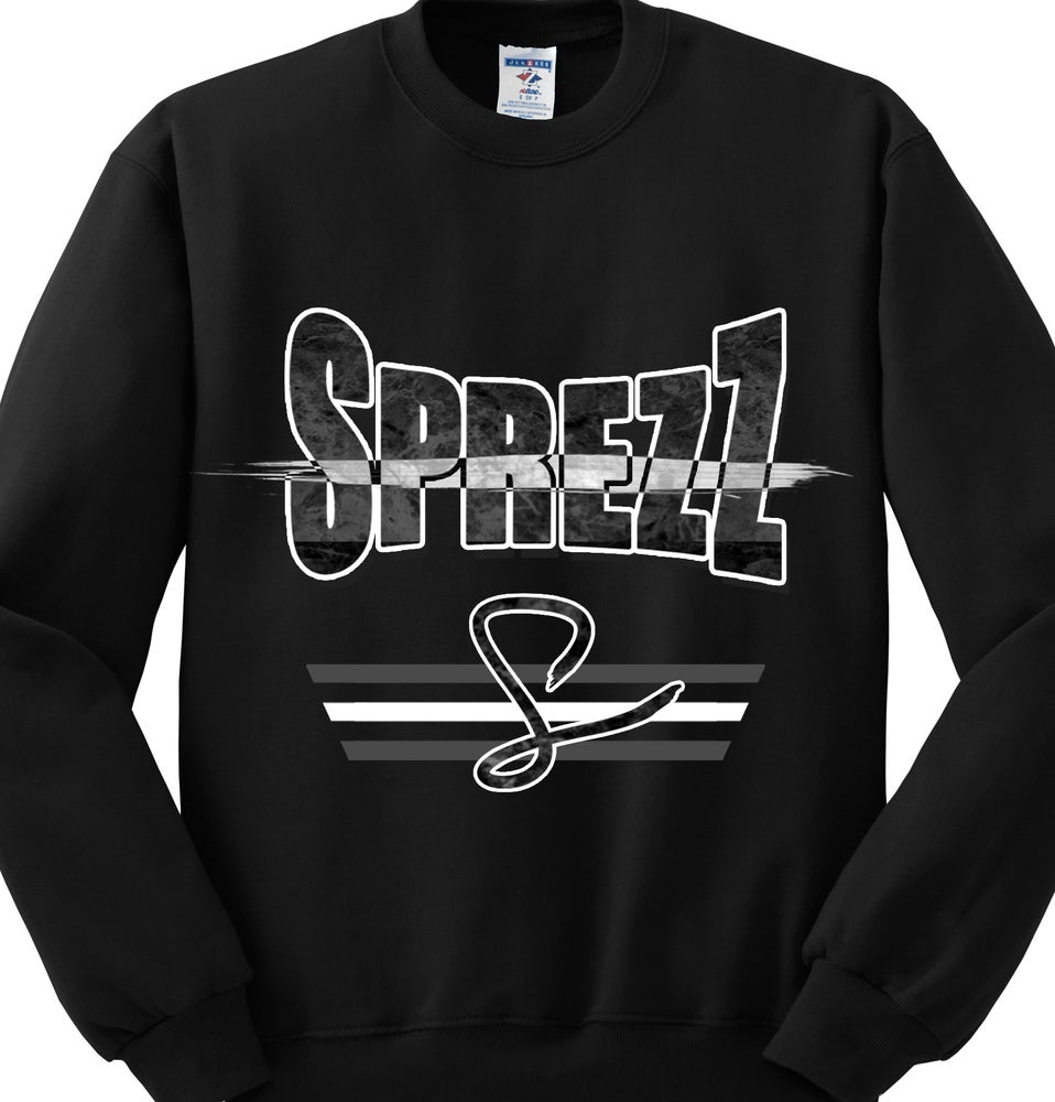 "Image of Sprezz ""Big Name"" Crewneck Black"