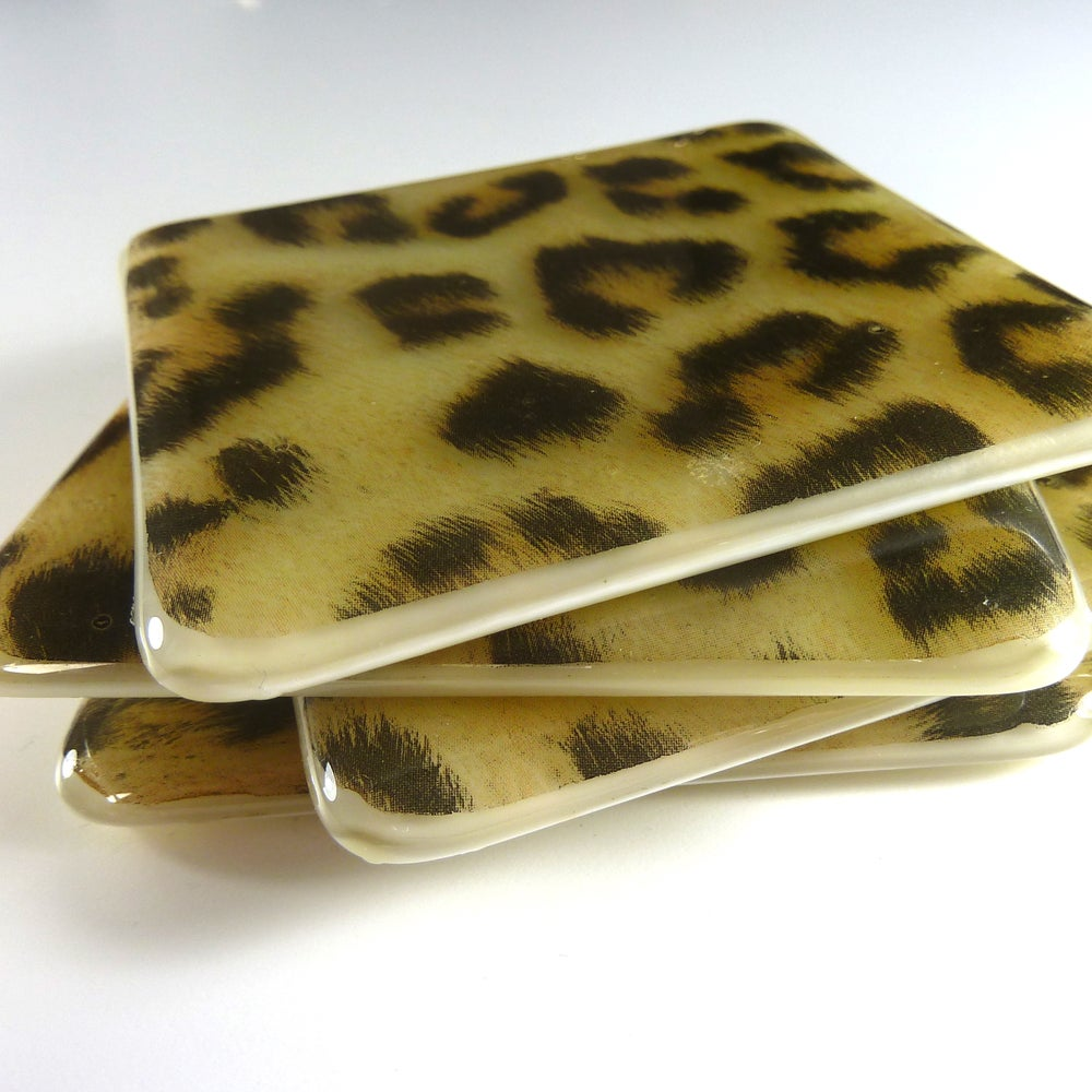 Image of Animal Print Coasters