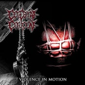 Image of Cerebral Effusion - Violence In Motion reissue CD/T-shirt/Hoodie
