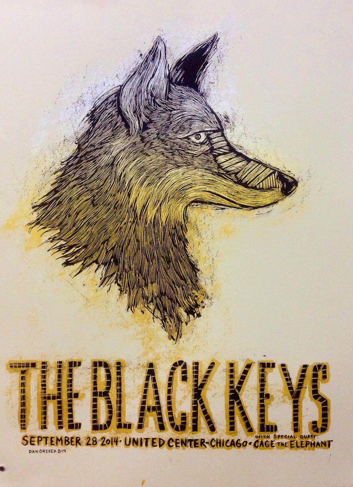The Black Keys United Center Sep 28 2014