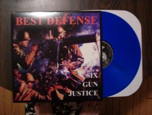 Image of BEST DEFENSE Six Gun Justice LP 1987-1990