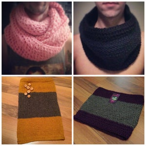 Image of Across the Universe Infinity Scarf or The Jude Neckwarmer
