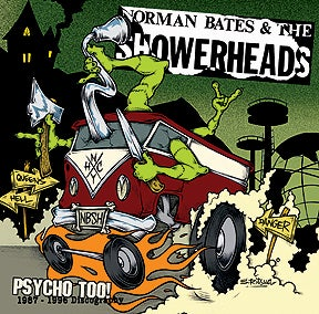 Image of NORMAN BATES & THE SHOWERHEADS Psycho Too! 1987-1996 discography CD