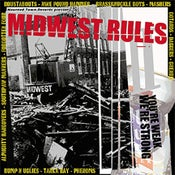 Image of v/a MIDWEST RULES You're Weak-We're Strong CD