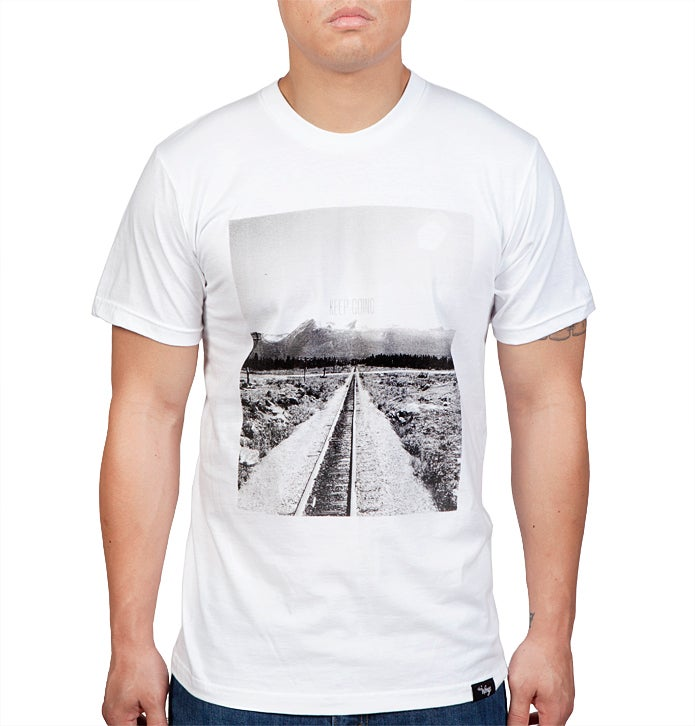 Image of Keep Going Tee (White)