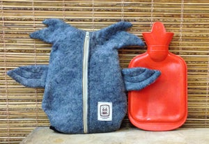 Image of Oona Owl Hot Water Bottle Cover - Bottle included!