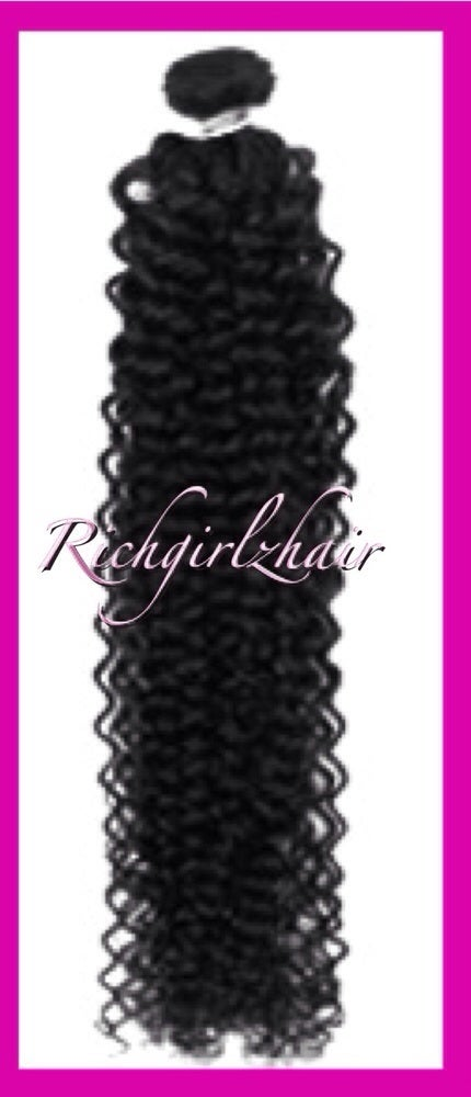 Image of Peruvian Queen Kinky curly 4 Bundles