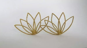 Image of lotus earrings