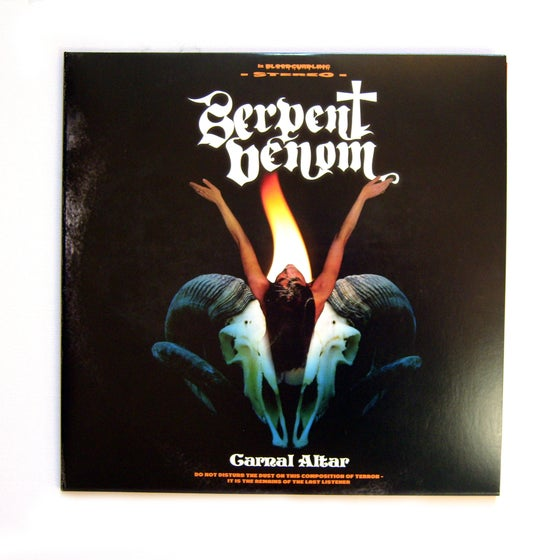 "Image of Carnal Altar 12"" Double LP Black Vinyl"