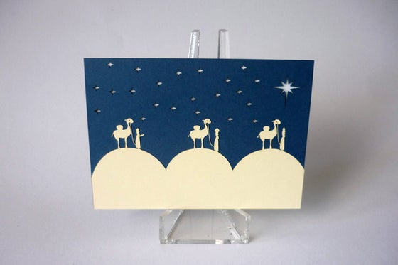 Image of Nativity Card 3 Pack