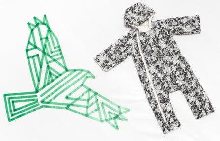 Image of Combipilote bébé garçon Little Creative Factory peau de mouton synthétique