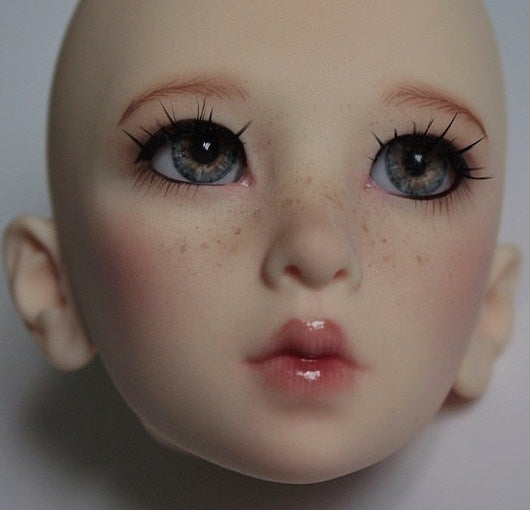 Image of custom BJD face up for your doll