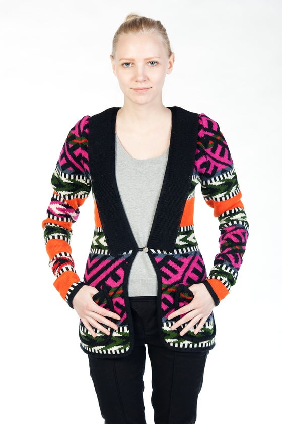 Image of Cardigan TERJE carrot