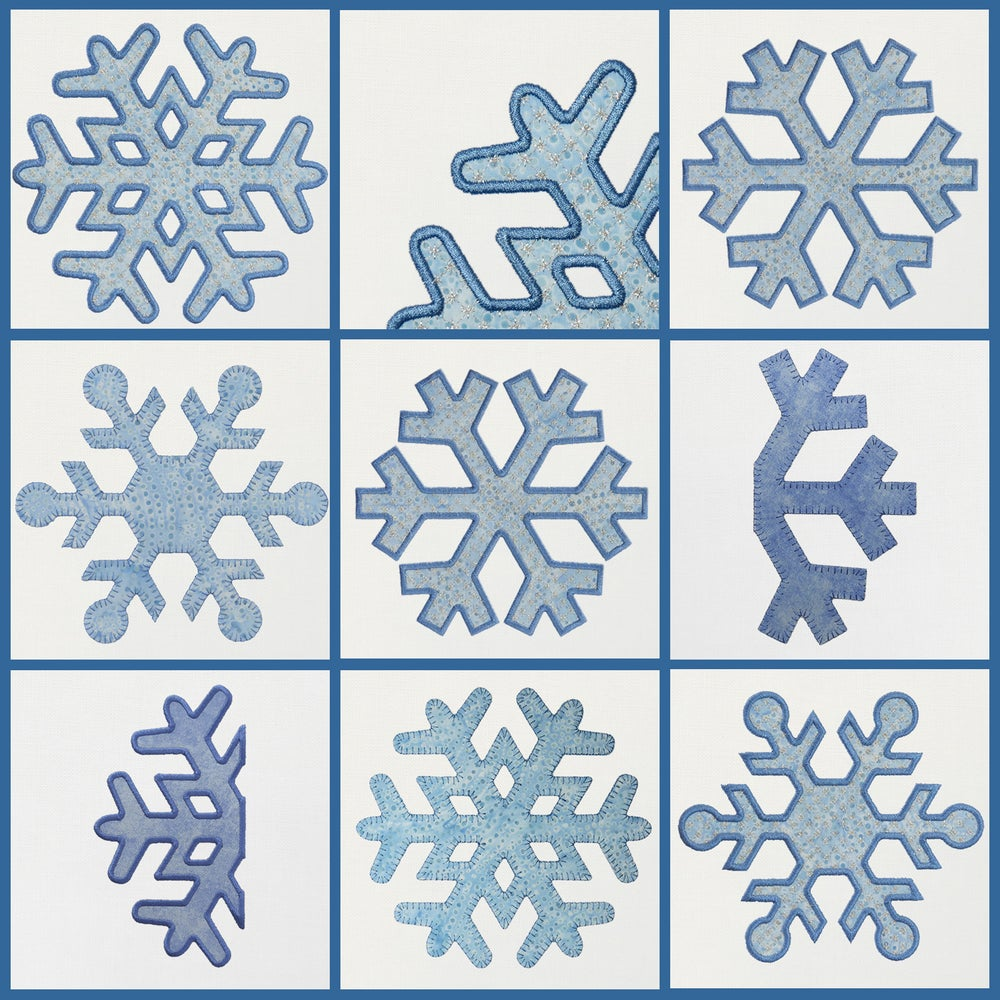 Image of Snowflakes - Frozen