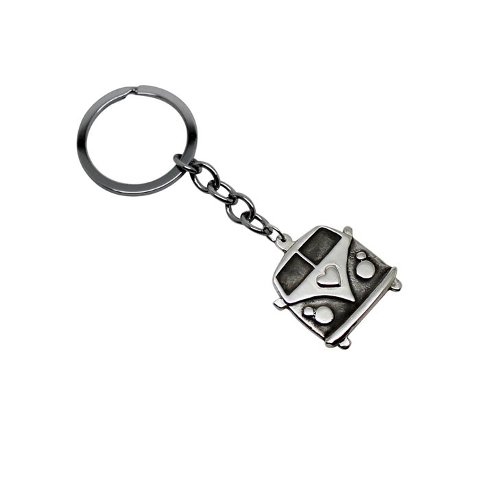 Image of Kombi Sterling Silver Key Chain