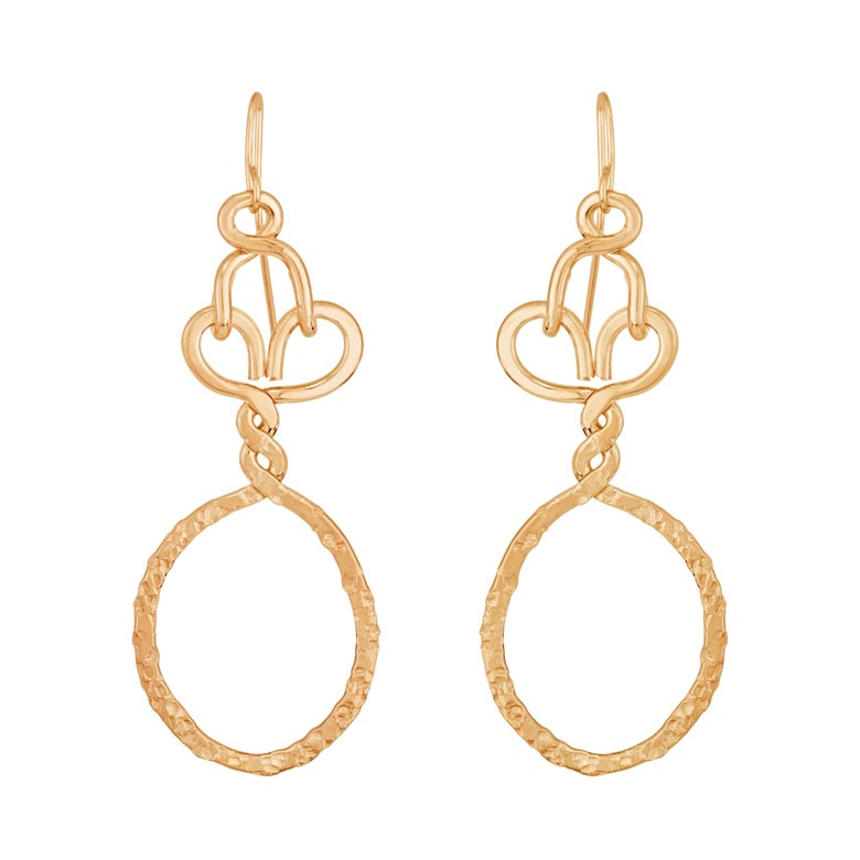 Image of Nashemia Signature Hoops- 14kt. yellow gold filled