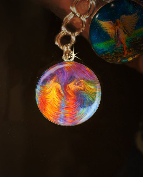 Image of Buddhist Monks Energy Clearing Charm