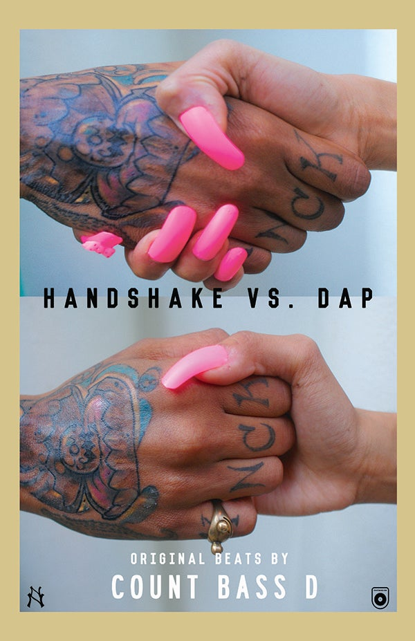 Image of Count Bass D - Handshake Vs. Dap Poster