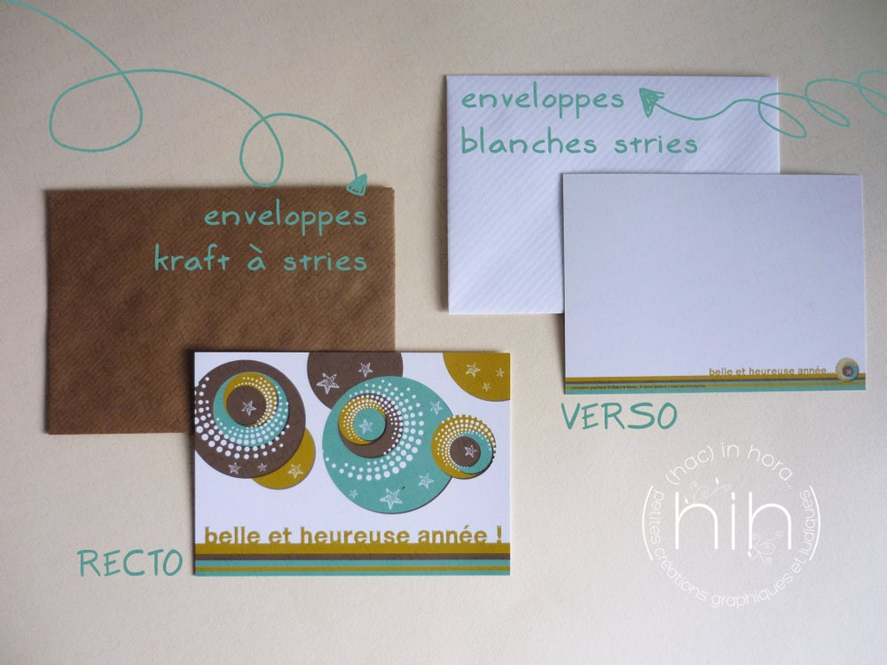 Image of 5 cartes de voeux pop !
