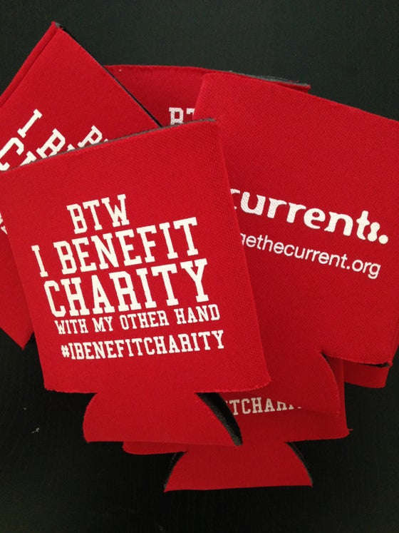 Image of I Benefit Charity Koozie