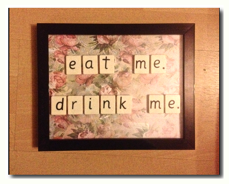 Image of Eat me. Drink me.