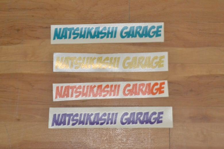 Image of Natsukashi Garage Sticker