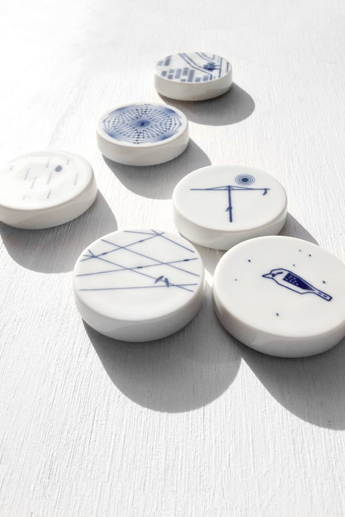 Image of Australian Collection - Porcelain magnet set