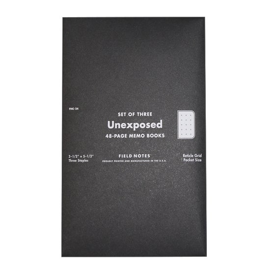 Image of Field Notes - Unexposed
