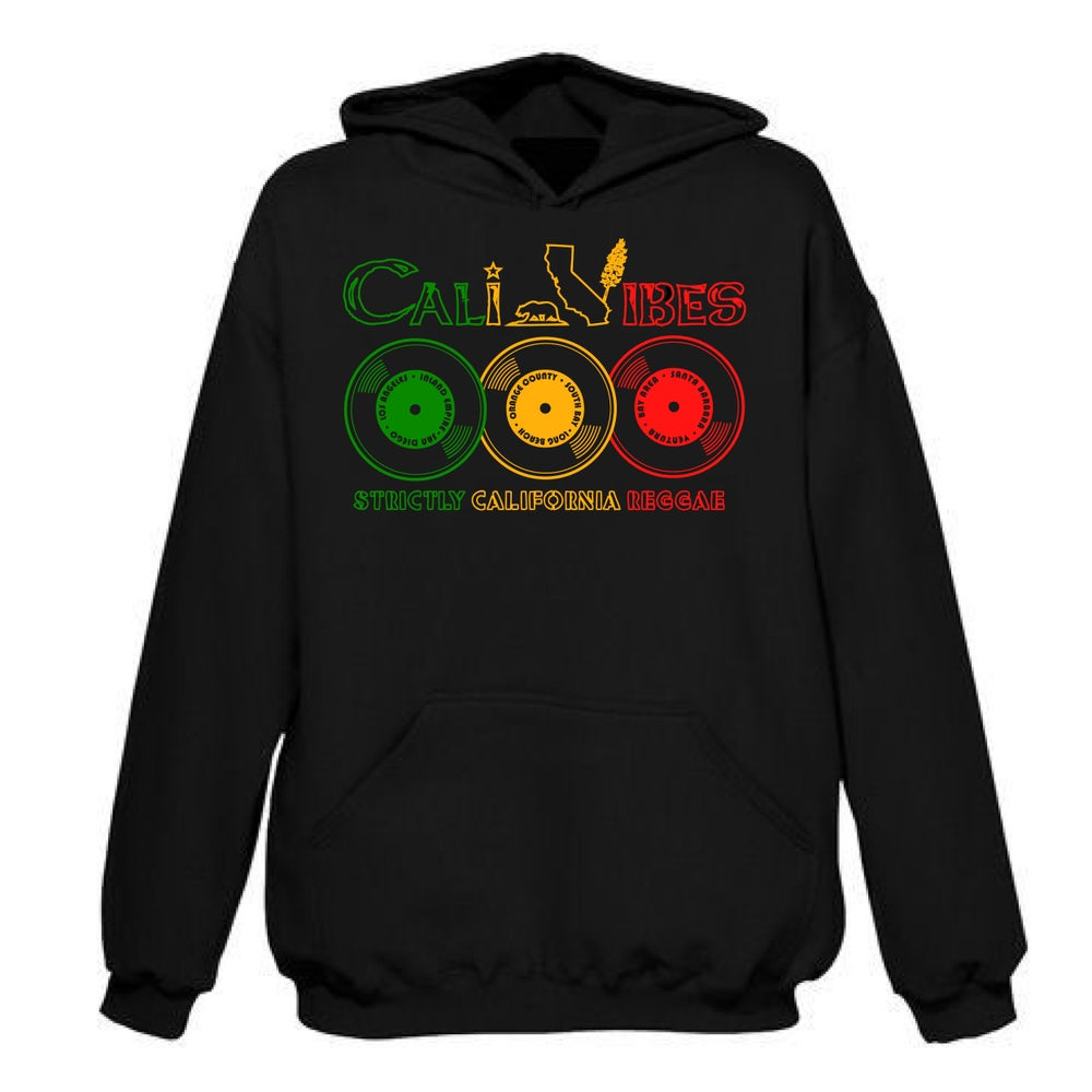 Image of STRICTLY CALIFORNIA REGGAE HOODIE