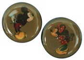 Image of Vintage Mickey & Minnie Mouse Acrylic Plugs