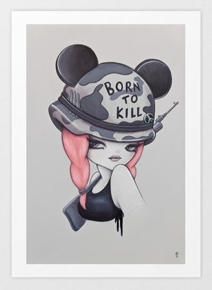 Image of Born To Kill : Limited Edition Art Print