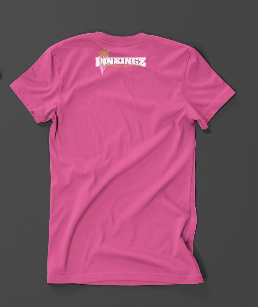 Image of Pinkingz Bowling T-Shirt: Striking for a cure for CANCER