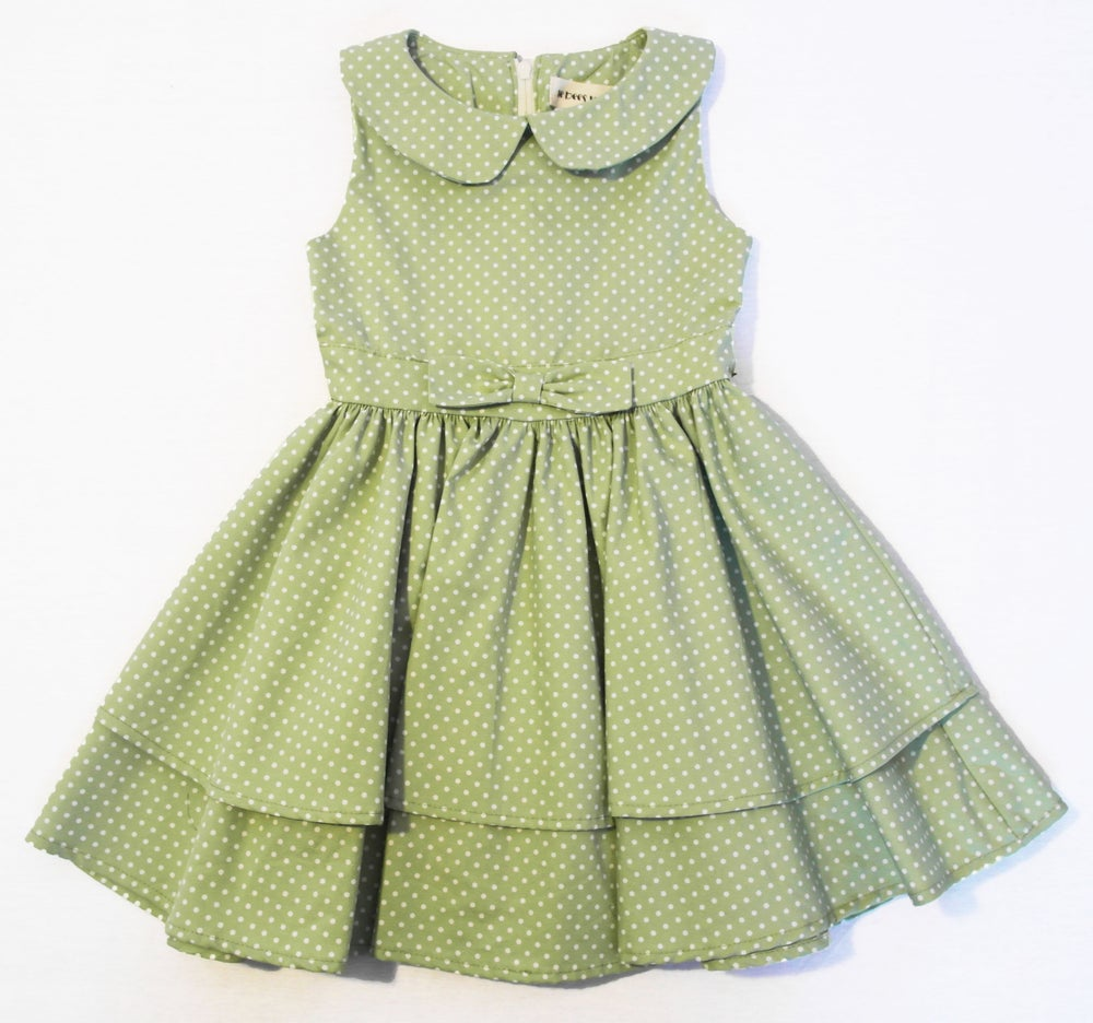 Image of Green Tea Double Skirt