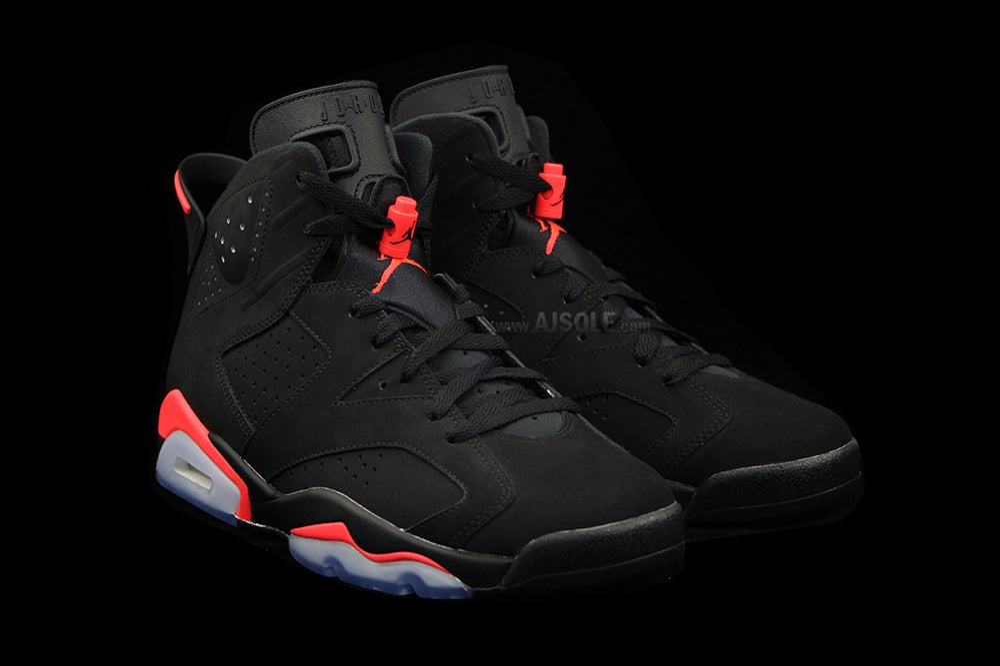 buy popular 1e27a 05490 Air Jordan VI Black/Infrared
