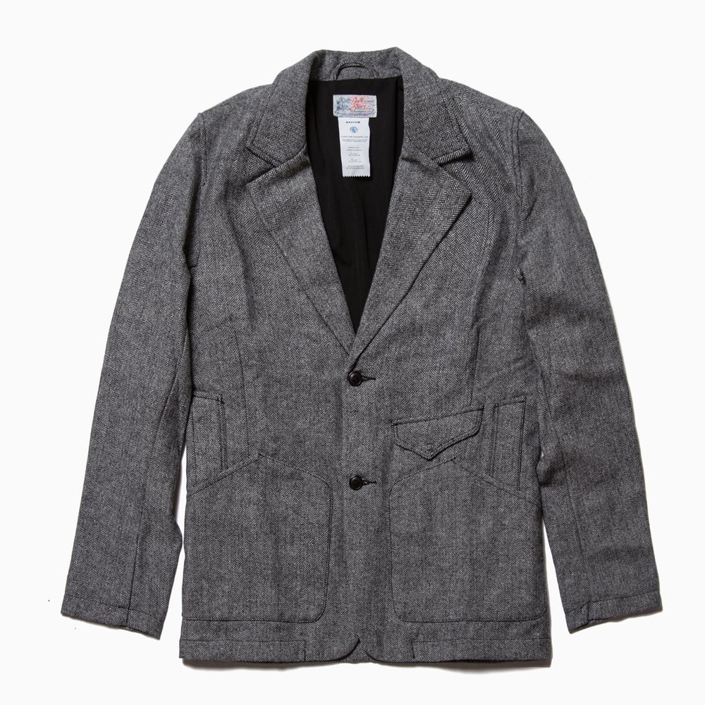 Image of Garbstore Rydal Lodge Suit Jacket - HERRINGBONE