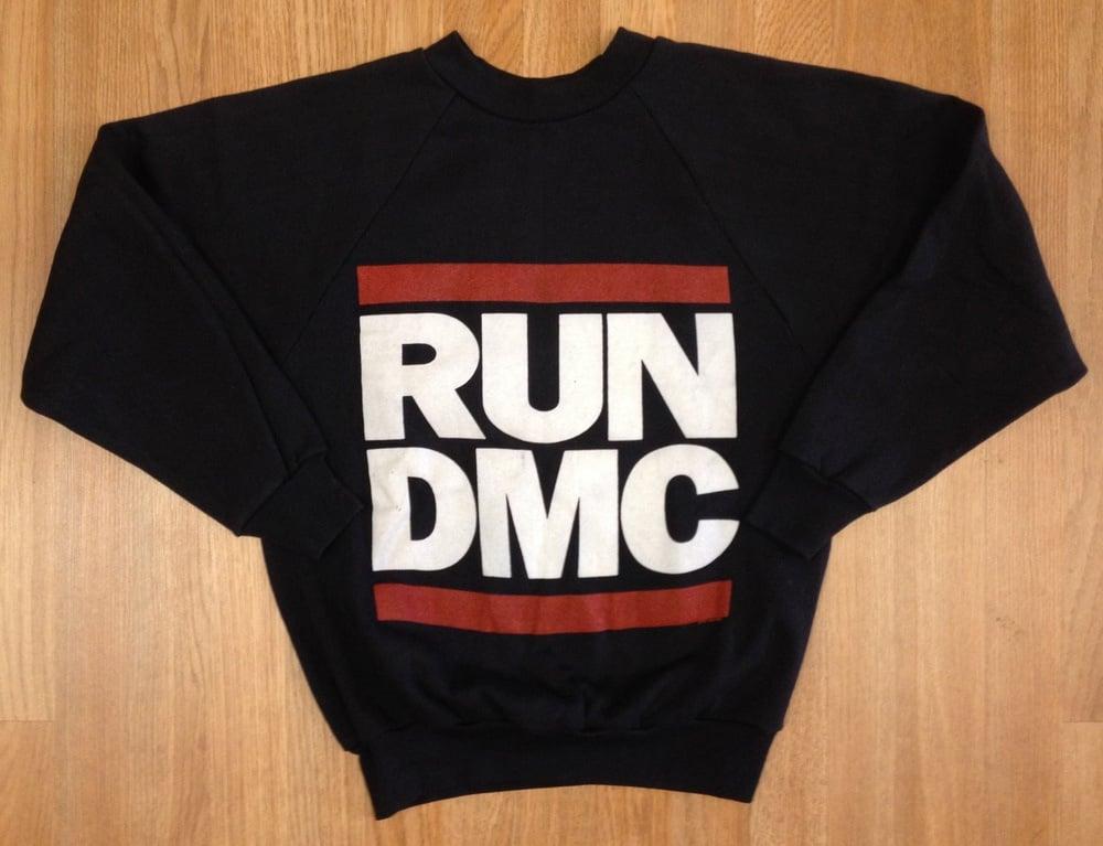 Image of Vintage Deadstock RUN DMC Crewneck Wrights Sweatshirt