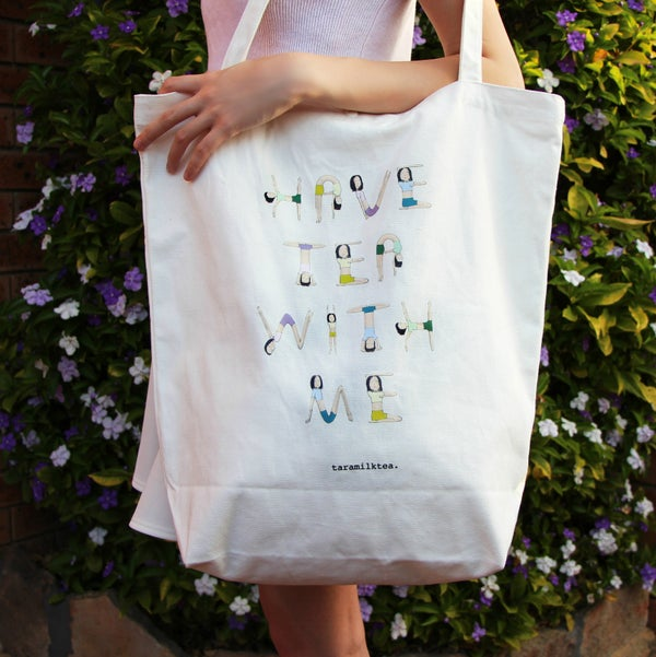 Image of 'Have Tea With Me' Tote Bag
