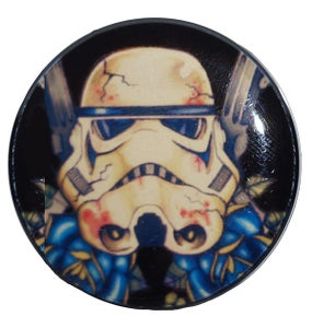Image of Star Wars Stormtrooper Tattoo Style Plug