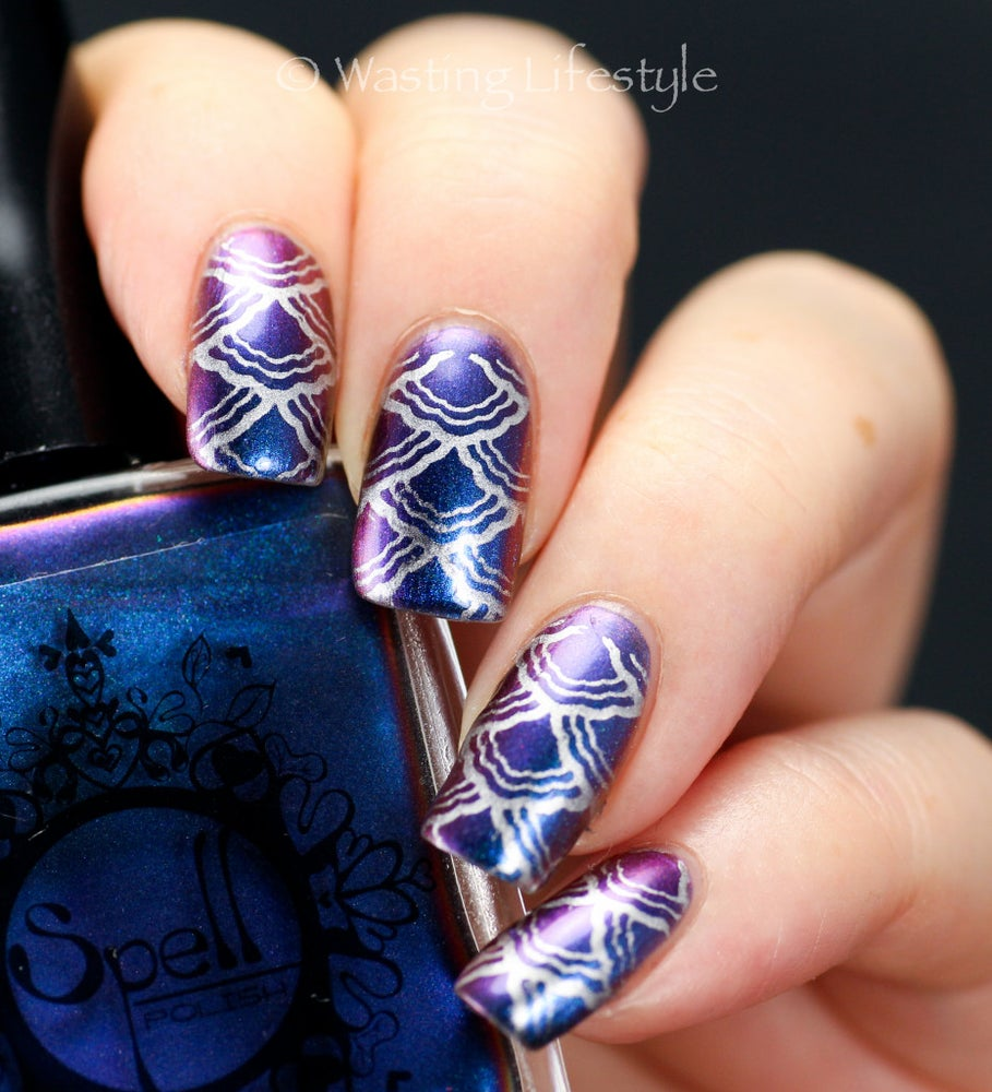 Image of Magichromes™ SPELL POLISH ~Escaping Gravity~ color shifting nail polish