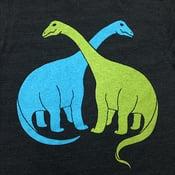 Image of Brontosaurus - VNeck XS / Womens VNeck SM MD