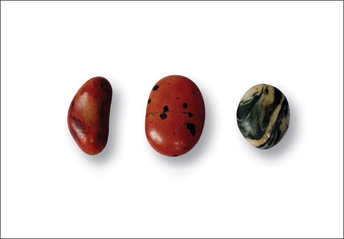 Image of a close look at pebbles