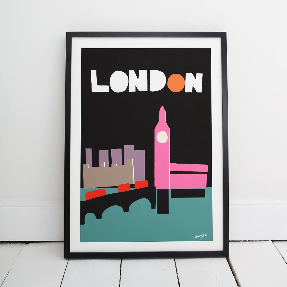 Image of London City Print