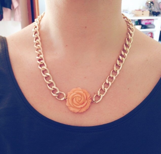Image of La Rosa necklace